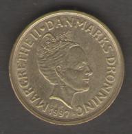 DANIMARCA 10 KRONER 1997 - Danimarca