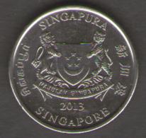 SINGAPORE 20 CENTS 2013 - Singapore