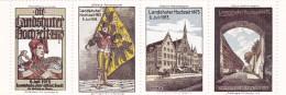 Allemagne - Vignette - Erinnophilie