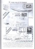 HISTORIA AEROPOSTAL DEL COMET I AL COMET IV C ALGERIO NONIS RARE 32 PAGINAS - DE HAVILLAND - Correo Aéreo E Historia Postal