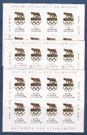 Italie Rome  Jeux Olympiques 1960 - Ensemble De 12 BF De 8 Vignettes En 12 Langues - Neufs ** - TB/SUP - Erinnophilie