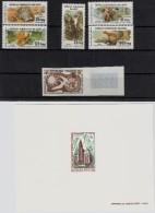 1958 10 Fr. Menschenrechte, 1968 4 Fr. Kirche, 1979 Tiere (Satz),  Postfrisch  - Und Epreuves   ,  #79 - Madagaskar (1960-...)