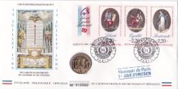 Bi-Centenaire De La Révolution Française. Enveloppe & Sa Médaille - Franz. Revolution