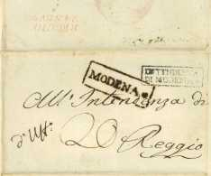 Royaume D'Italie - Modena 1810 Pour Reggio - Postmark Collection (Covers)