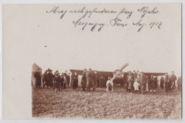 SISSONNE - LA SELVE - Ferme De Macquigny Août 1917 - Carte-photo Allemande - Aviation Militaire Avion Grande Guerre WW1 - Sissonne