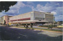 AFRICA,ZAMBIA,LUSAKA, Cairo Road, Nice Stamp, 1967, Comunicasion, Coton, Old Photo Postcard - Zambia