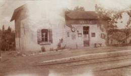 Photo Juillet 1915 MANRE (près Vouziers) - La Gare (A142, Ww1, Wk 1) - Non Classés