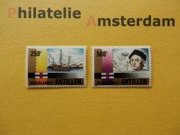 Netherlands Antilles 1992, COLUMBUS / SHIPS BATEAUX SCHEPEN SCHIFFE NAVES: Mi 750-51, ** - Ships