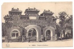 CPA Chine China Pekin Temple De Confucius Edit TH C N°16 No Written Non écrite - Chine