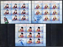 BELARUS 2014 1013-1015 Medallists Of Winter Olympic Games In Sochi - Winter 2014: Sochi