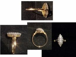 PRIX EN BAISSE ! JOLIE BAGUE EN OR 18K MARQUISE - Rings