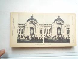EXPOSITION UNIVERSELLE PARIS 1900 ENTREE DU PETIT PALAIS COLORISÉ BON ETAT