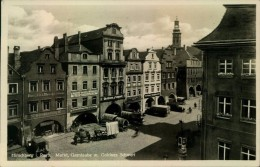 Hirschberg Jelenia Góra Markt Garnlaube - 1932 - Polonia