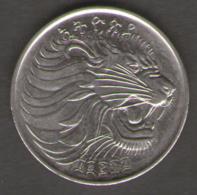 ETIOPIA 50 CENTS 1969 - Etiopia