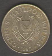 CIPRO 5 CENTESIMI 1983 - Cipro