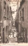CALAIS (62) Une Rue Du Courgain En 1915 - Calais