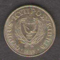 CIPRO 1 CENTESIMO 1985 - Cipro