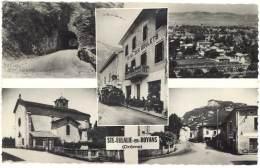 2 Cpsm Sainte Eulalie En Royans - Multivues ( Autobus Devant Hôtel Des Goulets, église, ...), Vue Générale - Autres Communes