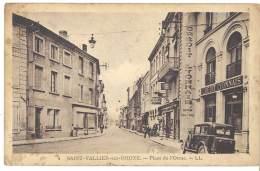 Saint Vallier Sur Rhône - Place De L'Orme ( Crédit Lyonnais à Droite ) - France