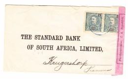 Portugal Lourenco Marques 12.3.1900 Zensur Brief Nach Pretoria Südafrika - Lourenco Marques