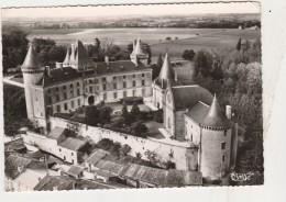 - CPSM - 16 - VERTEUIL - Vue Aérienne Du Château Et Cour D'Honneur - 245 - Autres Communes