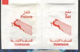 Tunisair - Sachet Poivre Et Sel - Otros