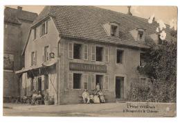 ROUGEMONT LE CHATEAU L HOTEL WILLEMAIN TRES ANIME - Rougemont-le-Château