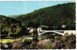 Membre Sur Semois, En Amont Du Pont Au Printemps (pk30005) - Vresse-sur-Semois
