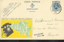 Publibel Obl. N° 12 ( 250.000 Abonnées Au Téléphone) Obl: Tavigny 22/01/1934 - Ganzsachen