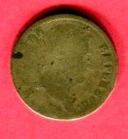 FAUSSE MONNAIE 1F NAPOLEON I  1818 B 9 - Variétés Et Curiosités
