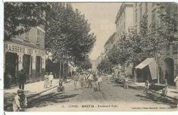 Haute Corse : Bastia, Boulevard Paoli, Belle Carte Animée - Bastia