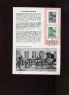 Belgie Herdenkingskaart 1965 DVDP Facteur 1328 - Cartes Souvenir