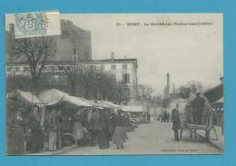 CPA 38 - Métier Marchands Ambulants Le Marché Aux Plantes Maraîchères NIORT 79 - Niort