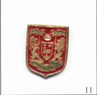 Pin´s - Sport - Rugby XIII / Club De St Estève (66). Non Estampillé. Métal Peint. T446-11 - Rugby