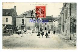 JOUX LA VILLE - La Place - Animée, Attelage - Sin Clasificación
