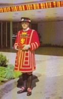 Canada Yeoman Of The Guard Beefeater Bayshore Inn Doorman Vancouver British Columbia - Alberghi & Ristoranti