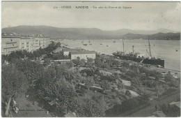 Corse Du Sud : Ajaccio, Un Coin Du Port Et Du Square - Ajaccio