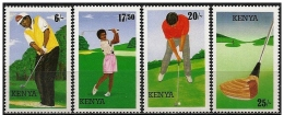 Kenya: Giocatori In Azione, Players In Action, Joueurs En Action - Golf