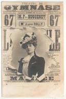 Jeanne ROLLY - Théâtre Du Gymnase - SIP 16 - Précurseur - Théâtre