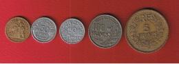 France  -  Lot De Monnaies Dif à Trouver - France