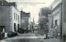 72 SAINT GERMAIN D'ARCE  GRANDE RUE  COMMERCE - France