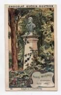 Chromo - Chocolat Guérin Boutron - Les Statues De Paris - Henri Murger - N°26 - Guérin-Boutron