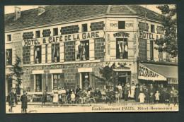 SAINT DIZIER - AVENUE DE LA GARE - ETABLISSEMENT PAUL HOTEL RESTAURANT - Saint Dizier