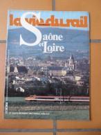 Vie Du Rail  1923 1983 Autun Macon Chalon Sur Saone Le Creusot Montchanin Montceau Les Mines Cluny Louhans Paray Monial - Trains
