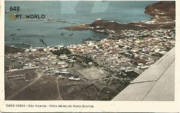 648 Cabo Verde Ilha De São Vicente - Vista Aérea Do Porto Grande - Capo Verde