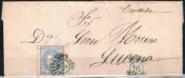 1871.-  ÚBEDA A LUCENA - Cartas