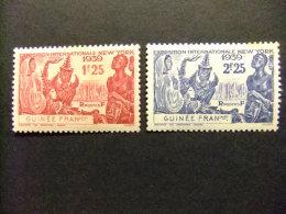 GUINEA FRANCESA GUINEE FRANÇAISE 1939 Yvert Nº 151 / 52 ** MNH - Guinea Francesa (1892-1944)