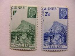 GUINEA FRANCESA GUINEE FRANÇAISE 1941 Yvert Nº 176 / 77 ** MNH - Guinea Francesa (1892-1944)