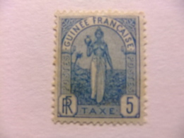 GUINEA FRANCESA GUINEE FRANÇAISE 1905 Yvert Nº Tax 1 * MH - Guinea Francesa (1892-1944)