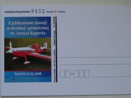Competition In Aerobatics Poland /  Carte Postale - 1946-....: Era Moderna
